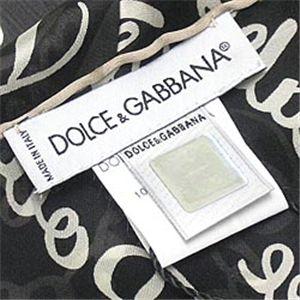 Dolce&Gabbana(ドルチェ&ガッバーナ) マフラー N20661/N0000 ブラック