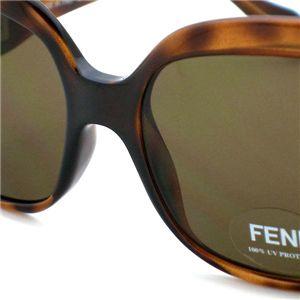 FENDI(フェンディ) サングラス/メガネ FS409 ブラウン  215