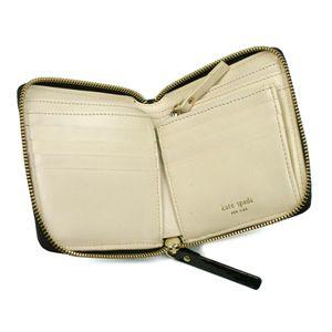 kate spade(ケイトスペード)二つ折り財布(小銭入れ付) TUTTI FRUITTI PWRU1240 BARRETT ブラック