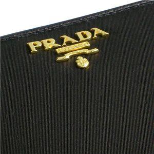 PRADA(プラダ) 長札財布 TES+SAF COLOR 1M0506 TES SAFFIANO ブラック