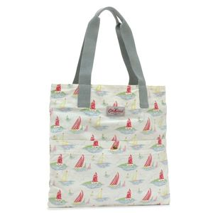 CATH KIDSTON(キャスキッドソン) トートバッグ FASHION 243391 WASHED COTTON TOTE W/POCKET