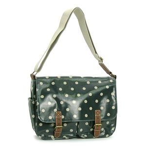 CATH KIDSTON(キャスキッドソン) ナナメガケバッグ FASHION 255363 SADDL BAG W/LEATHER