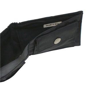 DIESEL(ディーゼル) 二つ折り財布(小銭入れ付) NEW GENERATION 00XG86 NEW BENNY H1645 ブラック