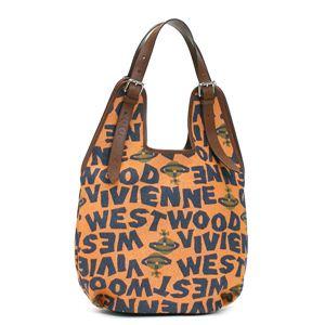 Vivienne Westwood(ヴィヴィアンウエストウッド) ショルダーバッグ STONEAGE 4818  オレンジ