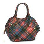 【ブランド7sale】9月21日15時まで3個限り特価 Vivienne Westwood(ヴィヴィアンウエストウッド) ハンドバッグ DERBY 4810 カレドニア