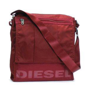 DIESEL(ディーゼル) ナナメガケバッグ ROAD 4 FREEDOM 00XN48 SURPRISE T4065 レッド