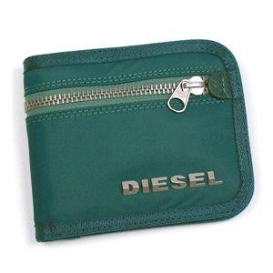 DIESEL(ディーゼル) 二つ折り財布(小銭入れ付) NEW GENERATION 00XG78 New Jiny H2356 ブルー