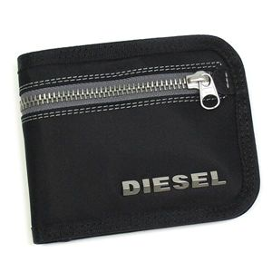 DIESEL(ディーゼル) 二つ折り財布(小銭入れ付) NEW GENERATION 00XG78 New Jiny H1645 ブラック