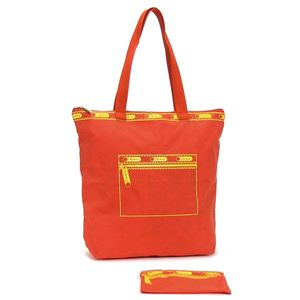LESPORTSAC(レスポートサック) トートバッグ ポップショッパー 7031 4987 MEDIUM POP SHOPPER オレンジ