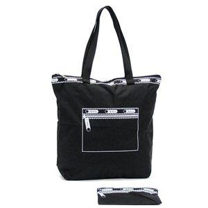 LESPORTSAC(レスポートサック) トートバッグ ポップショッパー 7031 4993 MEDIUM POP SHOPPER ブラック