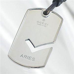 Gucci(グッチ) ペンダント ZODIAC PENDANTS 181343-J8400-8106 ARIES/オヒツジザ 8106 シルバー