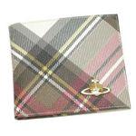 Vivienne Westwood(ヴィヴィアンウエストウッド) 二つ折り財布(小銭入れ付) DERBY 730 EXHIBITION