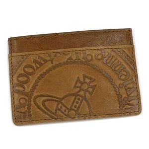 【ブランド7sale】9月21日15時まで3個限り特価 Vivienne Westwood(ヴィヴィアンウエストウッド) パスポートケース MAN WALLET COLLECTIO 3387 キャメル