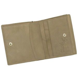 DIESEL(ディーゼル) 二つ折り財布(小銭入れ付) GEMSTONES 00XL74 GIFT BOX FEMALE T8098 ダークグレー