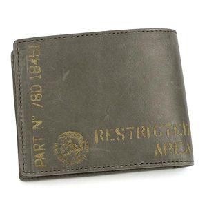 DIESEL(ディーゼル) 二つ折り財布(小銭入れ付) JEM-BOSS 00XP37 HIRESH EMBOSS T8086 グレー