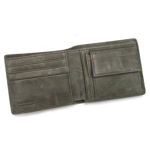 DIESEL(ディーゼル) 二つ折り財布(小銭入れ付) JEM-BOSS 00XP38 HIRESH SMALL EMBOSS T8086 グレー
