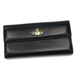 Vivienne Westwood(ヴィヴィアンウエストウッド) 長財布 NAPPA 2801 ブラック/ゴールド