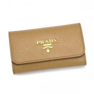 Prada(プラダ) キーケース SAFFIANO METAL ORO 1M0222 F054 ブラウン