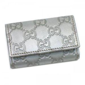 Gucci(グッチ) キーケース KEY CASE 138093 8102 シルバー