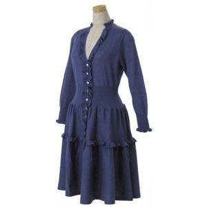 MARC BY MARC JACOBS(マークバイマークジェイコブス) レディースドレス M193714 ブルー S