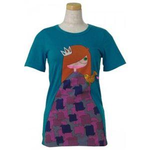MARC BY MARC JACOBS(マークバイマークジェイコブス) レディースTシャツ M192672 449 ブルー S