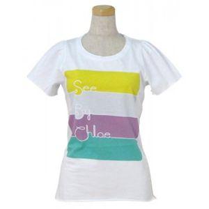 SEE BY CHLOE(シーバイクロエ) レディースTシャツ 464208 A00 ホワイト