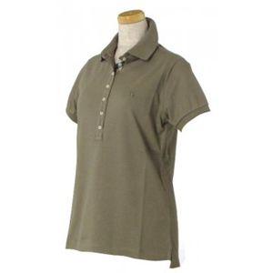 Burberry(バーバリー) レディースポロシャツ 1  5600 カーキー L62.5 S16.5 W45 SH36