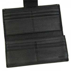 COACH(コーチ) ファクトリー 長財布 2 43605 SV/BK H10×W19.5×D2