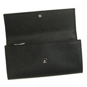 2010年12月20日までご注文いただくと、12月24日にお届け可能! Ferragamo(フェラガモ) 長財布 VARA ICONA 22A994 434103 ブラック H9.5×W19×D3