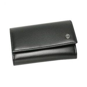Cartier(カルティエ) キーケース PASHA DE CATIER L3000127  ブラック H7×W10.5×D2