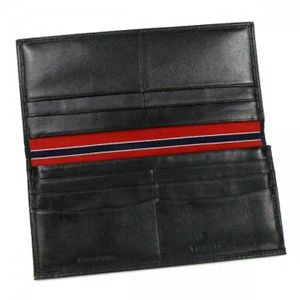 TOMMY HILFIGER(トミーヒルフィガー) 長財布 6   ブラック H19×W9.5×D2