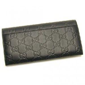 Gucci(グッチ) 長財布 AVEL 146229 1000 ブラック H8.5×W18×D3
