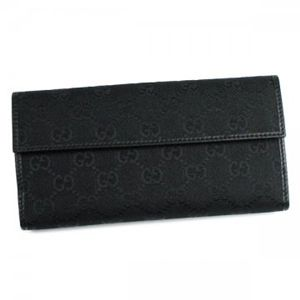 Gucci(グッチ) 長財布 ICON BAR 212089 1000 ブラック H9.5×W19×D3.5