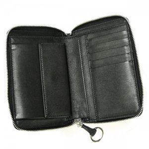 Gucci(グッチ) 二つ折り財布(小銭入れ付) ICON BIT 224249 1000 ブラック H9.5×W14.5×D2.5