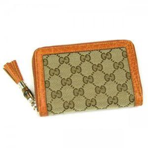 Gucci(グッチ) 長財布 TASSEL 224256 9711 ベージュ/オレンジ H9.5×W14.5×D2.5