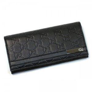 Gucci(グッチ) 長財布 MEN BAR 233112 1000 ブラック H8.5×W18×D3