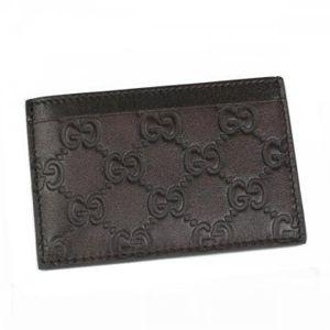 Gucci(グッチ) カードケース CARD CASE 163233 2019 ダークブラウン H7.3×W11