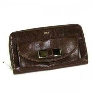 Chloe(クロエ) 長財布 LILY 3P0501 175 ブラウン H10.5×W18.5×D4