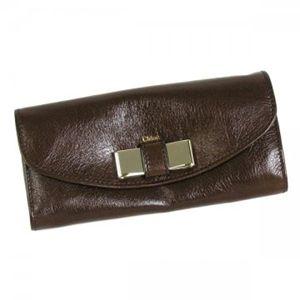 Chloe(クロエ) 長財布 LILY 3P0502 175 ブラウン H9.5×W19×D2.5