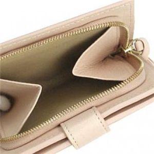 BOTTEGA VENETA(ボッテガベネタ) 二つ折り財布(小銭入れ付) P.FOGLIO INTRECCIATO 121059 6604 ピンク H10×W11×D2.5