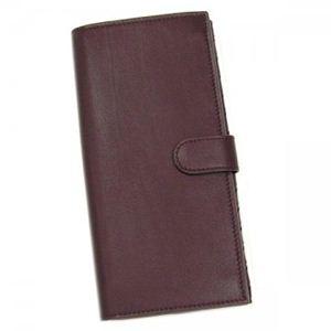 BOTTEGA VENETA(ボッテガベネタ) 長財布 25 134075 6115 ダークパープル H9.5×W19×D2.5