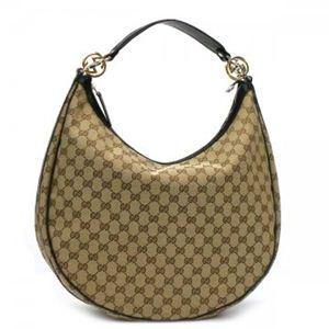 Gucci(グッチ) ホーボー GG TWINS 232945 9769 ブラック/ベージュ