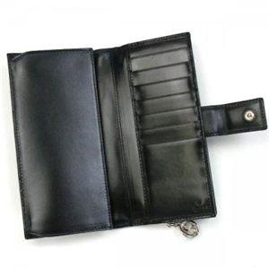 Gucci 長財布 GG TWINS 233024 9769 ブラック/ベージュ H9.5×W19×D3.5