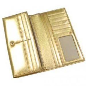 Vivienne Westwood(ヴィヴィアンウエストウッド) 長財布 NAPPA CALF 1032V ゴールド H9.5×W19×D2.5