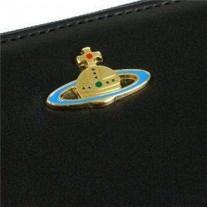 Vivienne Westwood(ヴィヴィアンウエストウッド) 長財布 NAPPA CALF 5140V ブラック/ゴールド H10×W19×D2.5