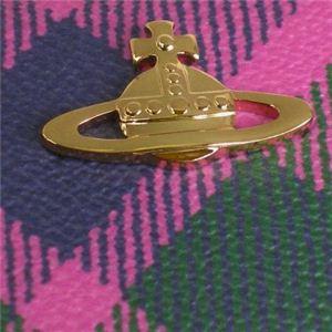 Vivienne Westwood(ヴィヴィアンウエストウッド) 長財布 DERBY 5140V ピンク H10×W19×D2.5