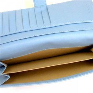 BOTTEGA VENETA(ボッテガベネタ) 長財布 PORTAMONETE INTRECCI 134075 4701 SKY ブルーUE H9.5×W19×D2.5