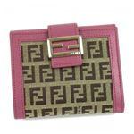 Fendi(フェンディ) Wホック財布 8M0188 F0HT0 ピンク (H9.5×W11×D2.5)