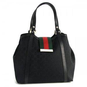 Gucci(グッチ) トートバッグ NEW LADIES WEB 233607 1060 ブラック (H25(C)×W26/34×D15)