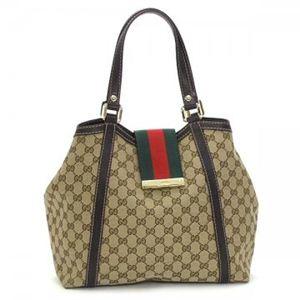 Gucci(グッチ) トートバッグ NEW LADIES WEB 233607 9793 ブラウン/ダークブラウン (H25(C)×W26/34×D15)